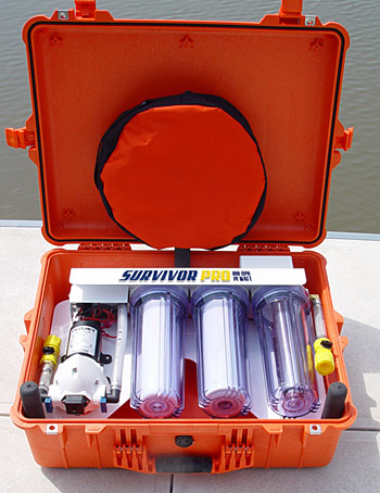 Survivor Pro Portable Emergency UV Water Filter System